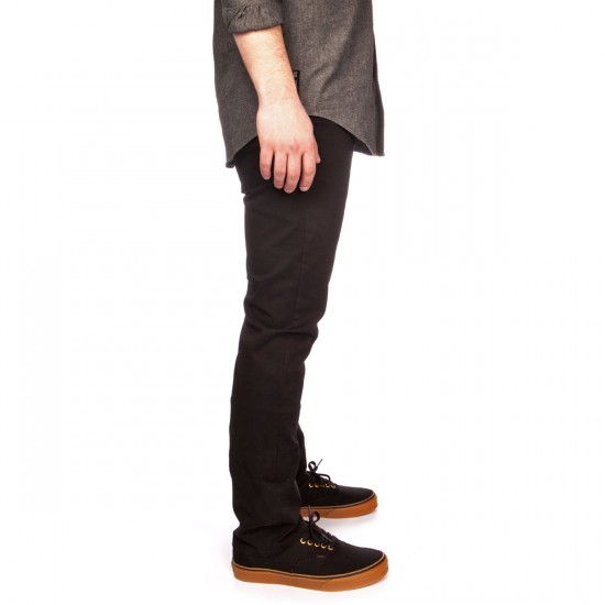 CCS Banks II Slim Tapered Stretch Twill Pants - Black - 32 - 32