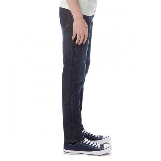 CCS Banks OG Skinny Jeans - Indigo Distressed - 28 - 30