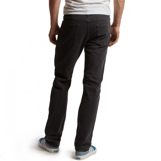 CCS Banks Straight Fit Jeans - Grey - 28 - 30