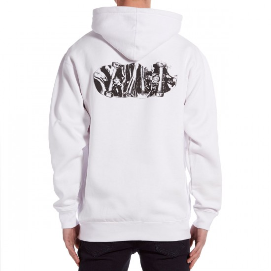 CCS Melted Hoodie - White/Black