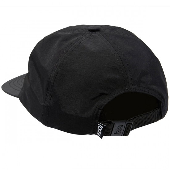 CCS Nylon Unstructured Hat - Black