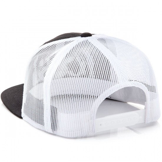 CCS Radar Trucker Hat - Black/White