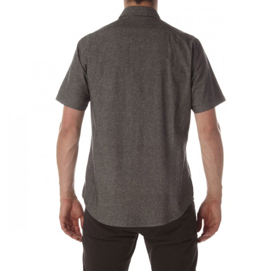 CCS Switch Short Sleeve Woven Shirt - Distressed Black