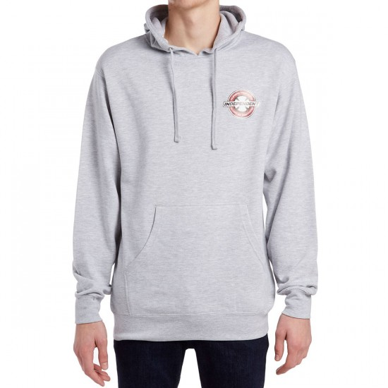 Independent X CCS Accept No Substitutes Pullover Hoodie - Grey Heather