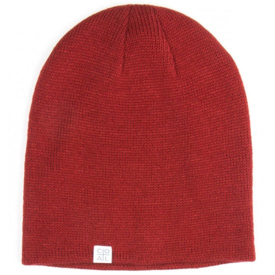 Coal The FLT Beanie - Dark Red