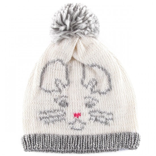 Coal The Whiskers Beanie - White