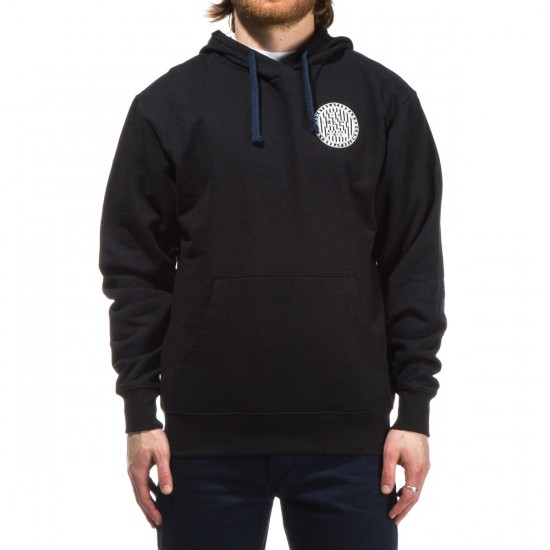 Comet Optical Pullover Hoodie - Black