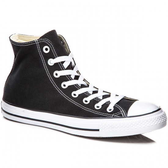 Converse Chuck Taylor All Star High Shoes - Black - 5.0