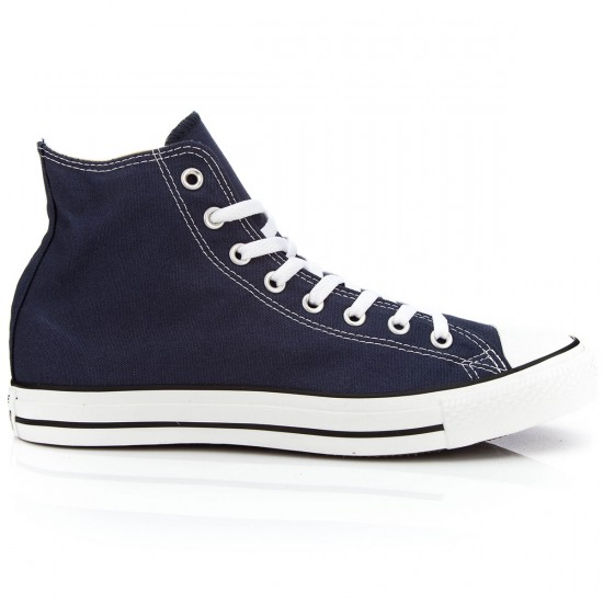 Converse Chuck Taylor All Star High Shoes - Navy - 5.0