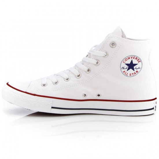 Converse Chuck Taylor All Star High Shoes - White - 5.0