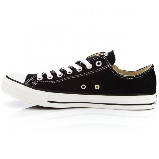 Converse Chuck Taylor All Star Lo Shoes - Black - 10.0