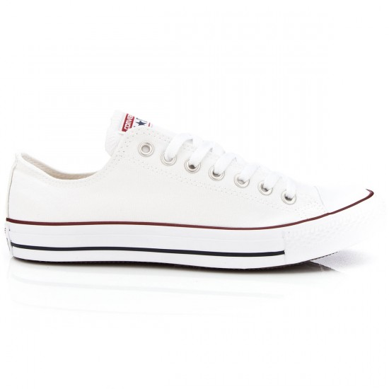 Converse Chuck Taylor All Star Lo Shoes - White - 10.5