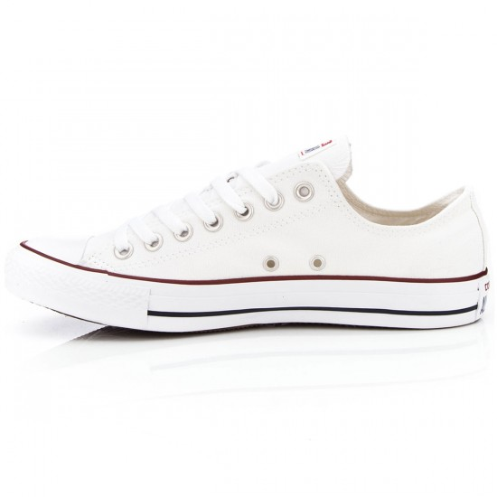 Converse Chuck Taylor All Star Lo Shoes - White - 5.0