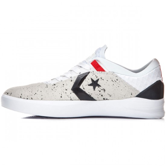 Converse Cons Metric CLS Shoes - White/Black/Red - 6.5
