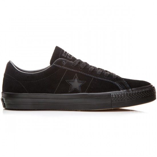 Converse One Star Pro Shoes - Black/Black/Black - 6.0