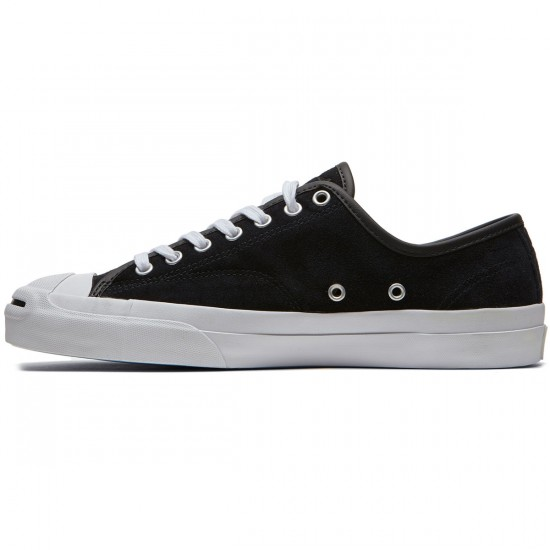 Converse X Polar Jack Purcell Pro Shoes - Black/Black/White - 6.0
