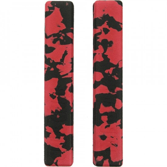 Crab Grab Grab Rails  - Red/Black Swirl