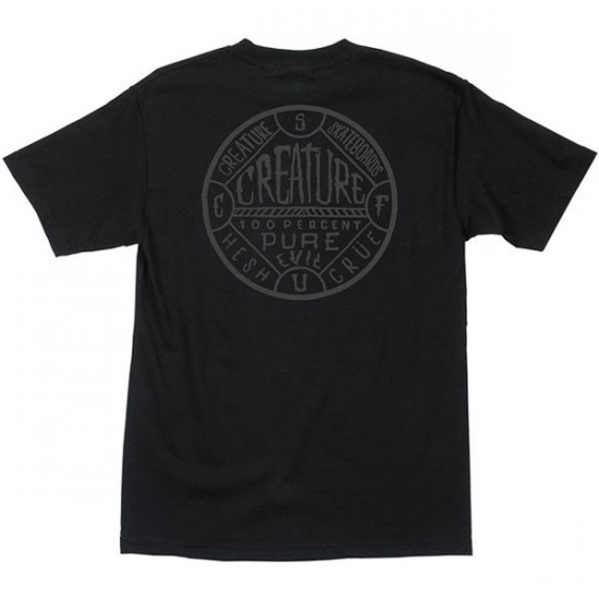 Creature Black Magic Pocket T-Shirt - Black