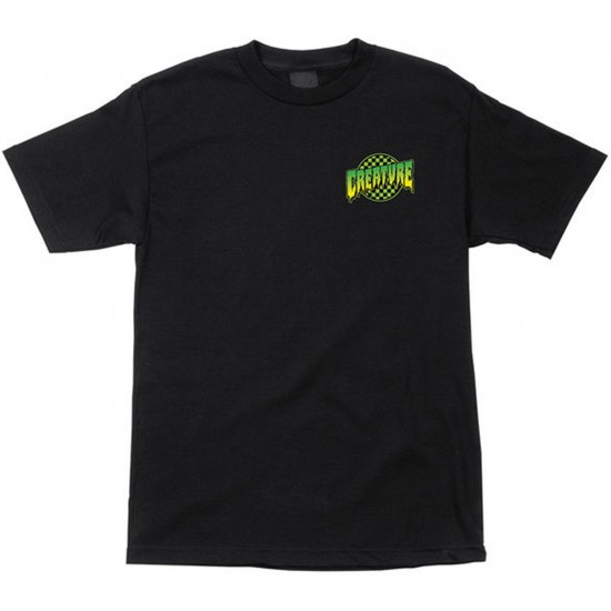 Creature Go Home T-Shirt - Black
