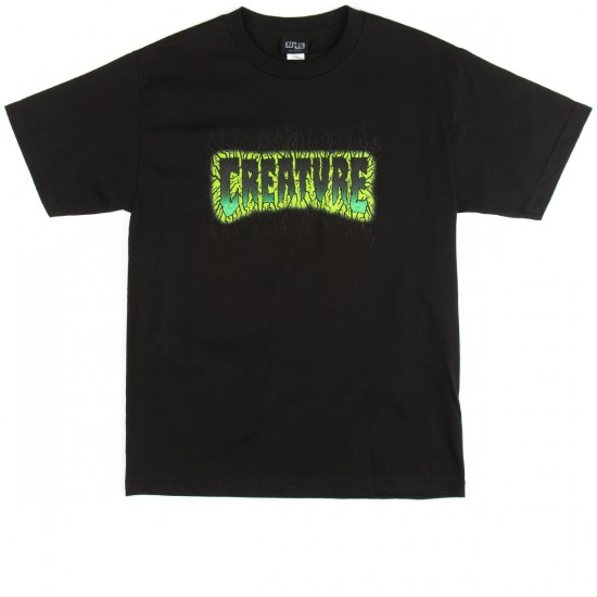 Creature Pulse T-Shirt - Black