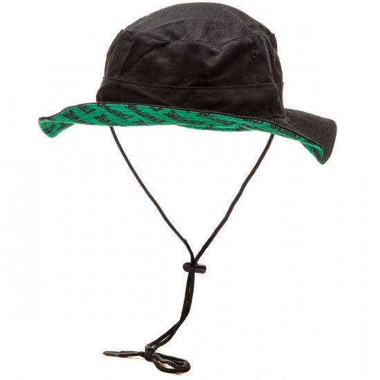 Creature Safari Boonie Twill Hat - Black