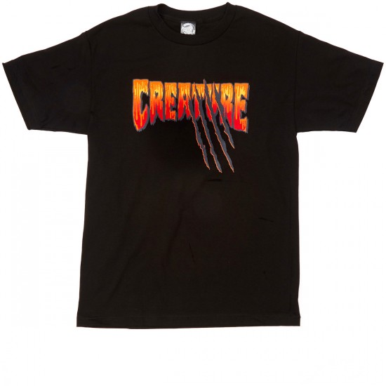 Creature Teen Wolf T-Shirt - Black