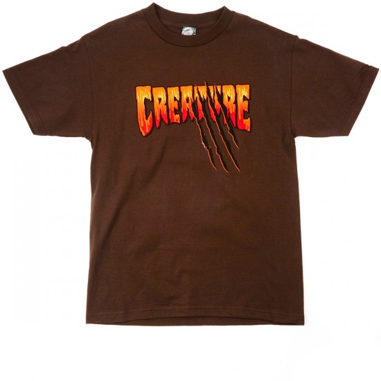 Creature Teen Wolf T-Shirt - Dark Chocolate