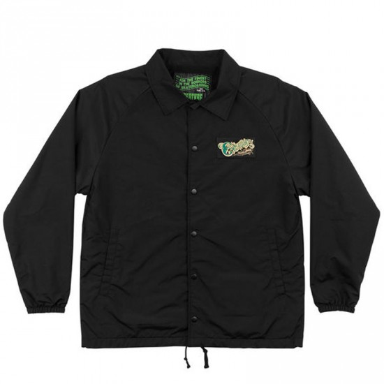 Creature The Creeper Coach Windbreaker Jacket - Black
