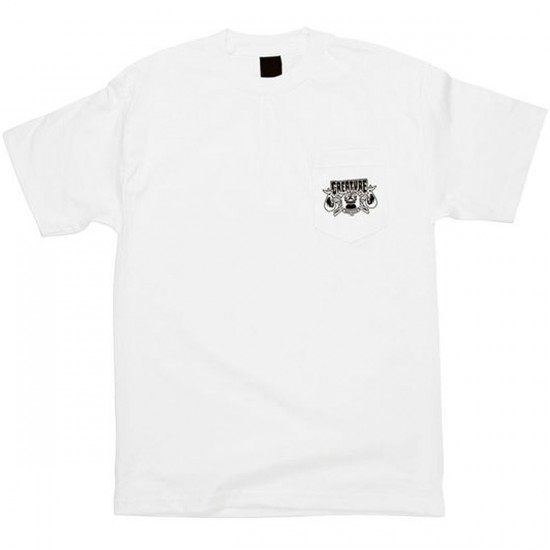 Creature Transient Pocket T-Shirt - White