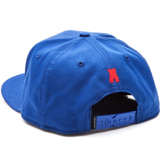 Crooks and Castles Chain C Snapback Hat - Cobalt