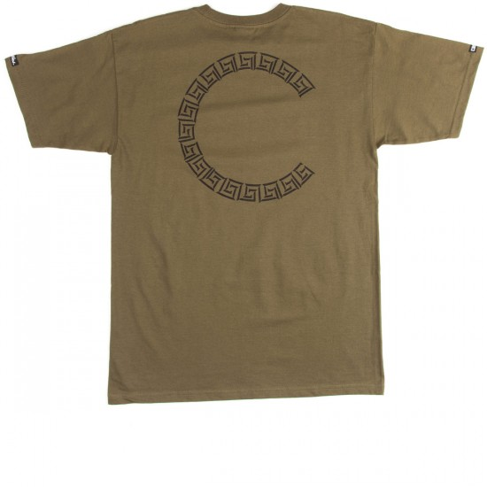 Crooks and Castles Established Crooks T-Shirt - Military
