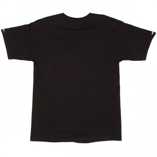 Crooks and Castles French Davis T-Shirt - Black