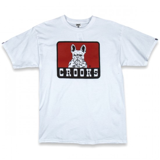 Crooks and Castles French Davis T-Shirt - White