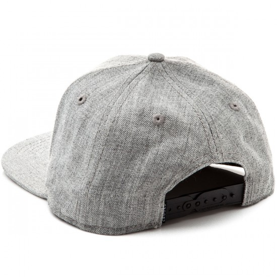 Crooks and Castles Hybrid C Snapback Hat - Speckle Grey