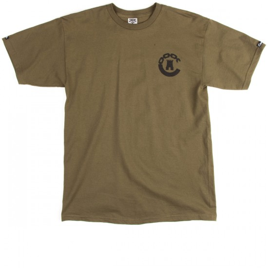 Crooks and Castles Legacy T-Shirt - Military