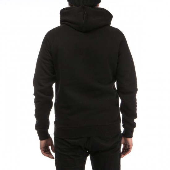 Crooks and Castles Maison Knit Pullover Hoodie - Black