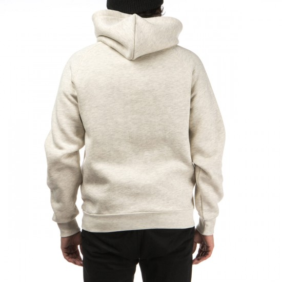 Crooks and Castles Maison Knit Pullover Hoodie - Heather Oatmeal