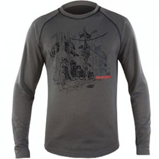 DaKine Belmont Crew 2012 - Charcoal: ON SALE 50% OFF CLEARANCE