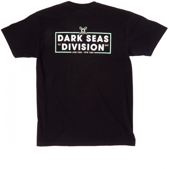 Dark Seas Back Off T-Shirt - Black