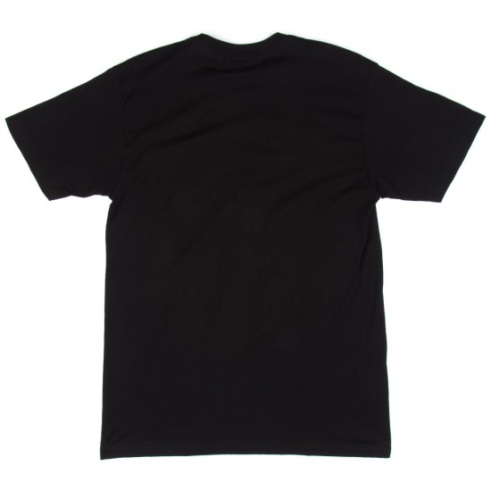 Dark Seas Bat Ray T-Shirt - Black