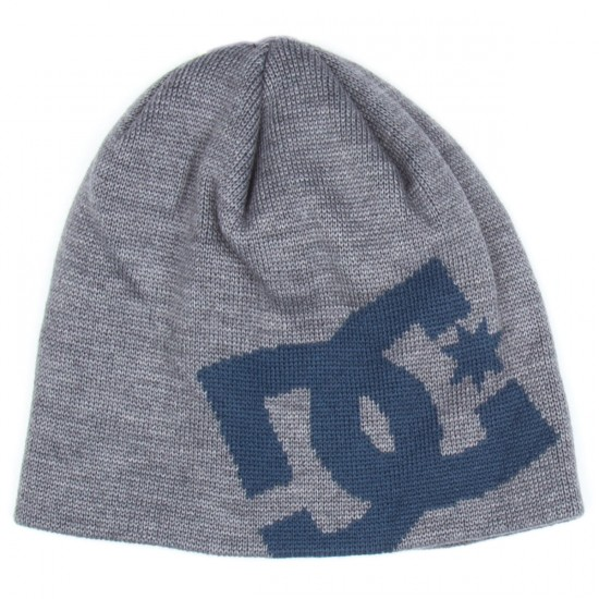 DC Big Star Beanie - Heather Grey