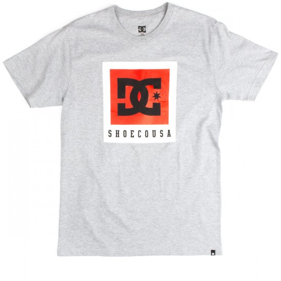 DC Boxed Out T-Shirt - Heather Grey