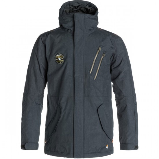 DC Camp Snowboard Jacket - Anthracite