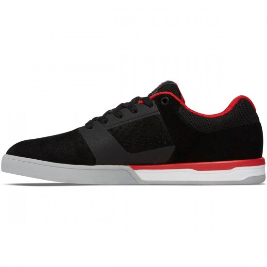DC Cole Lite 2 Shoes - Black/Red - 7.5