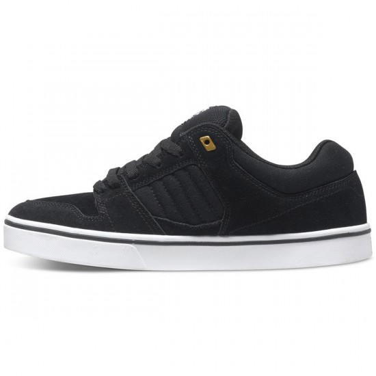 DC Course 2 Shoes - Black/White/Gold - 7.5