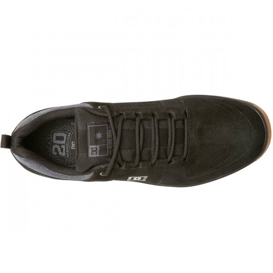 DC Lynx Vulc Shoes - Black/Gum - 6.0