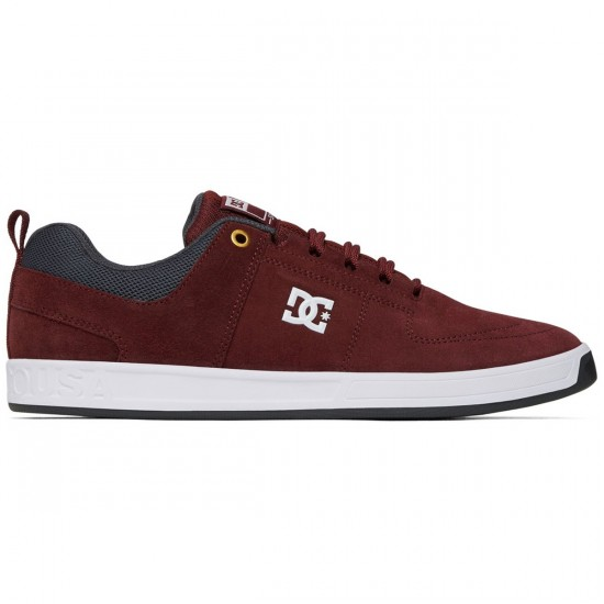 DC Lynx Vulc Shoes - Burgundy - 6.0