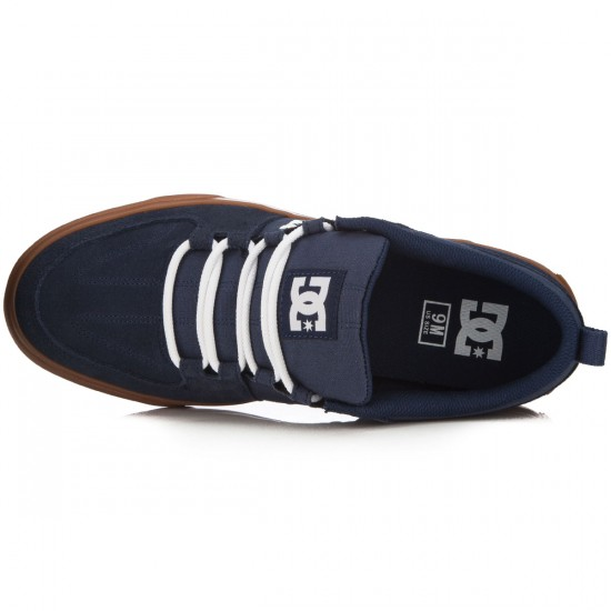DC Lynx Vulc Shoes - Navy/Gum - 14.0