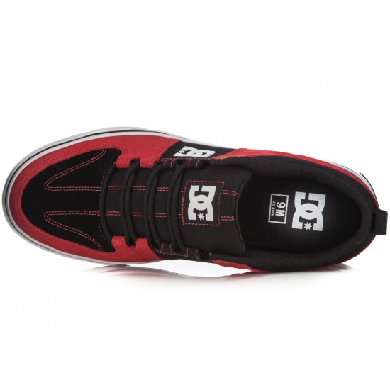 DC Lynx Vulc Shoes - Red/Black/White - 14.0
