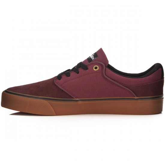 DC Mikey Taylor Vulc Shoes - Burgundy - 14.0
